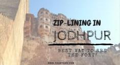 ziplining in jodhpur Rajasthan