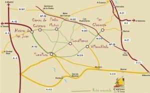 ruta caminos del vino