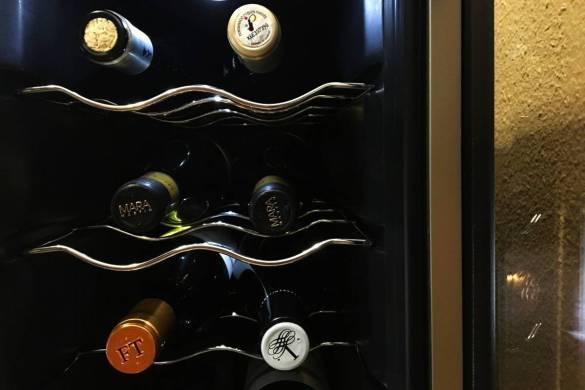 conservacion de vino en una vinoteca
