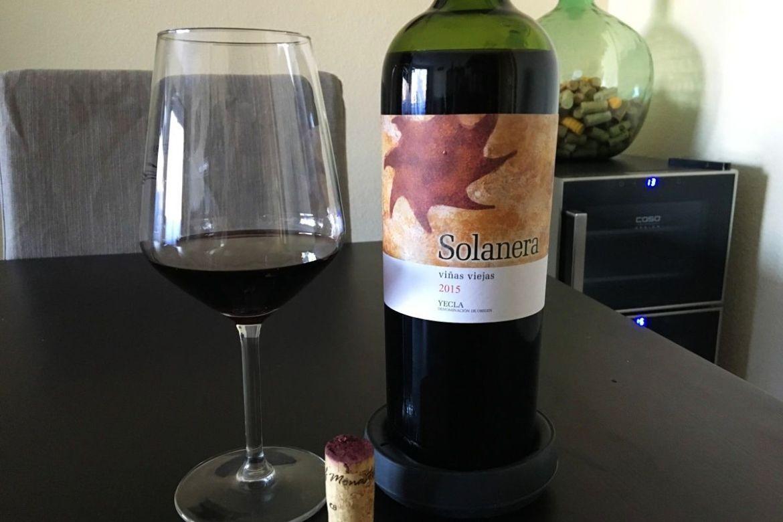 cata de vino solanera 2015