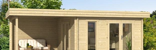 Le chalet de jardin Rodez, 44 mm