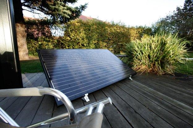 Orientation du panneau solaire