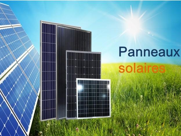 Production électrique par panneaux solaires