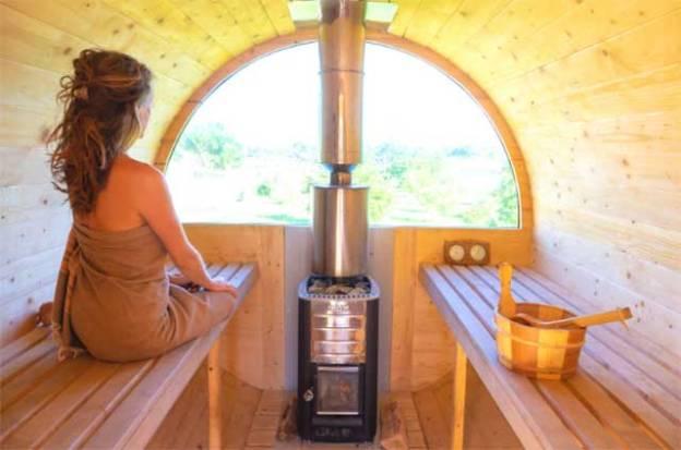 pratique du sauna