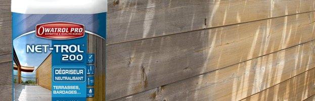 NET-TROL 200 par Owatrol, dégriseur à bois