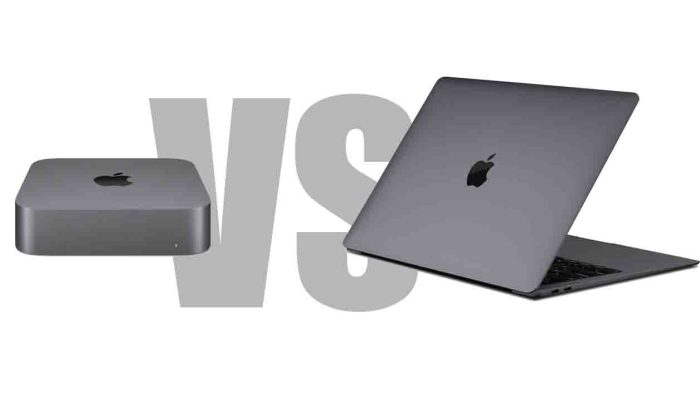 MacBook Air vs Mac mini