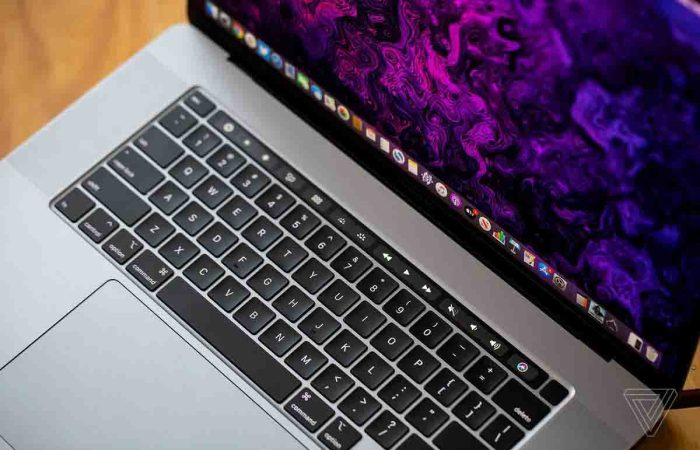 MacBook Air 2020 Clavier