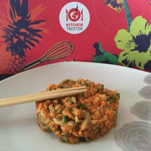 salade de légumes croquants chinoise kitchen trotter