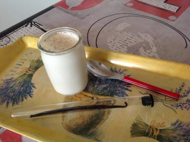 yaourt nature à la vanille naturelle 1