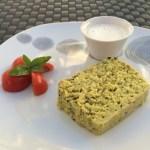 Terrine de courgettes au curry