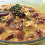 «Tajine» de poulet, mirabelles et miel