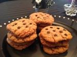Cookies tout chocolat ( au chocolat au lait et pépites de chocolat noir)