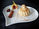 Mousse glacée de figues au mascarpone