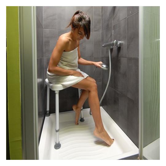 tabouret de douche salle de bain