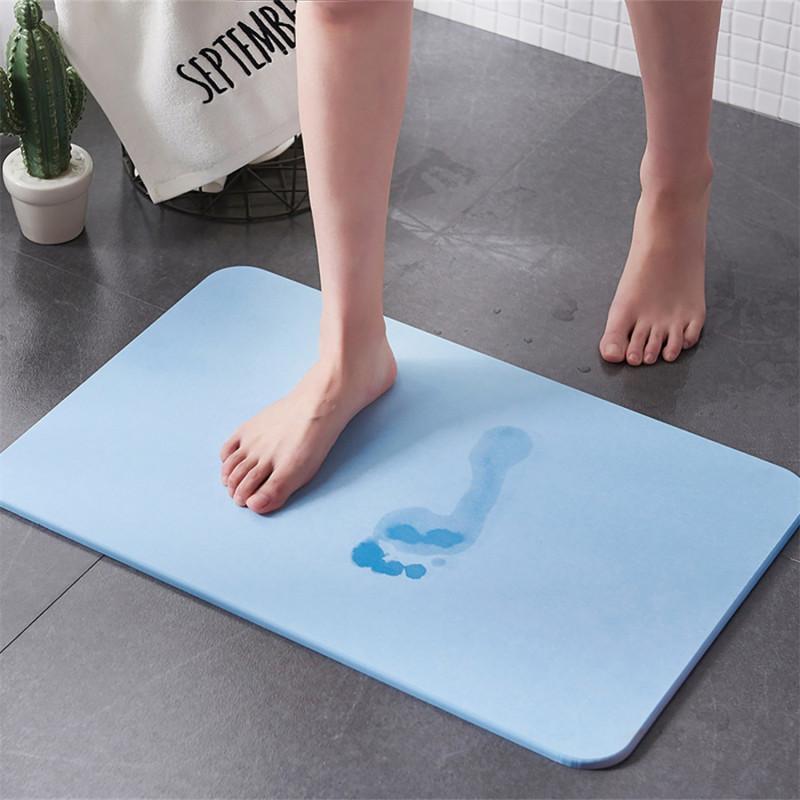 tapis de sortie de bain absorbant mineralis tapis antiderapant
