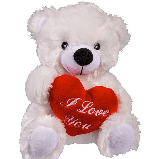 Ours En Peluche Coeur Amoureux Cadeau Saint Valentin