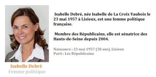 Isabelle Debré