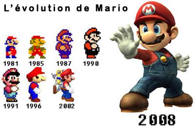 evolution-mario