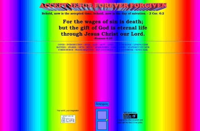 Jesus a des fidèles aux talents artistiques sataniques...