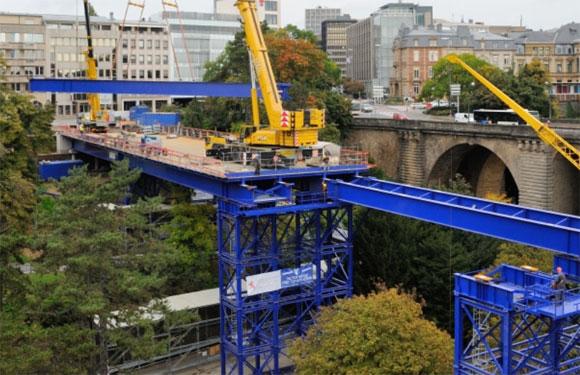 Photo of Luxembourg-ville : ouverture reportée du pont provisoire au Pont Adolphe