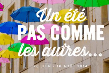 Luxembourg : des parapluies colorés pour décorer la rue