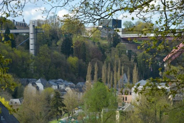 Un ascenseur panoramique dernier cri inauguré à Luxembourg-ville