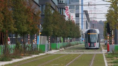 Photo of Le tram à Luxembourg inauguré