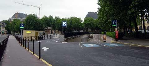 Parking r publique for Adresse metz expo