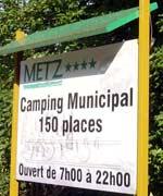 camping metz panneau