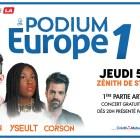 Podium Europe 1