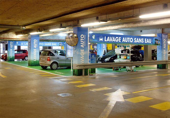 Franchise Auto Cleaner Dans Franchise Lavage Sans Eau De