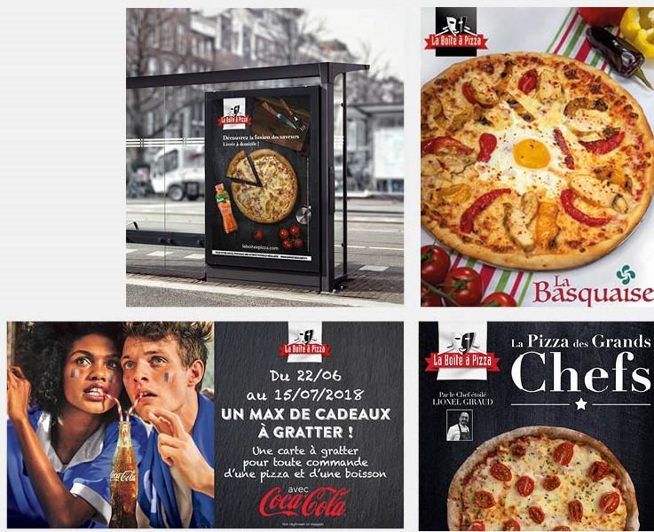 franchise la boite a pizza dans