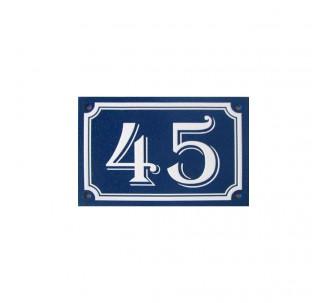 plaque de numero de maison
