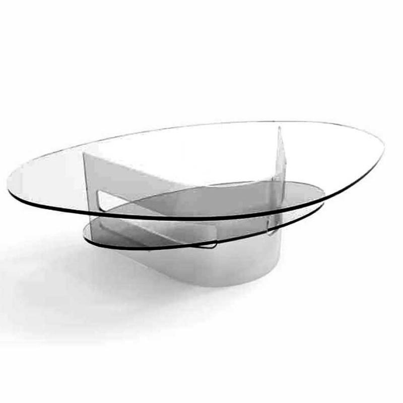 Achat De Table Basse Design ILARIA En Verre Fumpas Cher