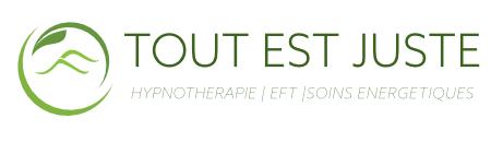 logo tout est juste hypnose reiki quantum touch eft la chaux-de-fonds suisse