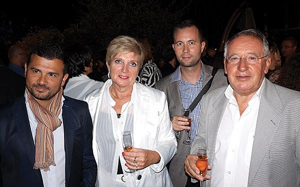 Laurent Rossi IN EXTENSO, Nadine Monnier AUTOMOBILE CLUB AIX, Geoffrey Millon CEPAC, Jean-Jacques Enoc AUTOMOBILE CLUB AIX