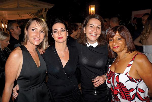 Stéphanie Amadeï OFFICE DE TOURISME AIX, Emmanuelle Vigne TOUTMA, Anne Luttringer A.L.C, Corinne Mavilla CEPAC