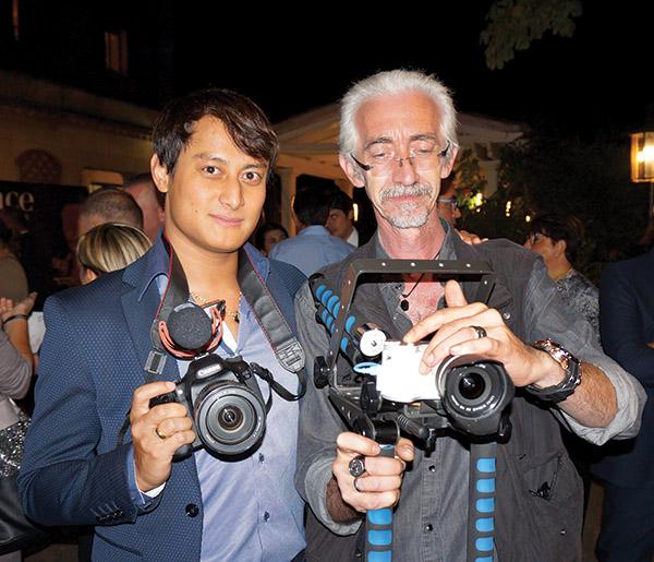 Virgil Vincent PROVENCE PLUS TV & Frédéric Lohbrunner COMMUNIQUACTION