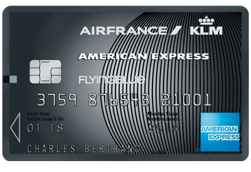 Carte American Express AirFrance/KLM Platinum