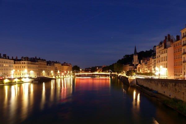 Lyon - ville pour passer le nouvel an en France