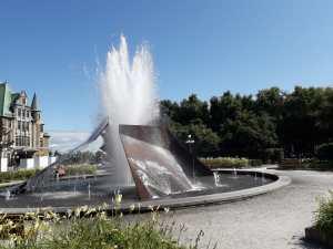 Fontaine eclatement Québec