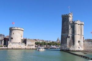 La Rochelle pour un circuit touristique en Nouvelle-Aquitaine