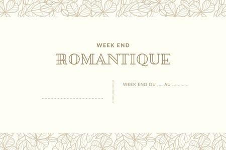 voyage week-end romantique