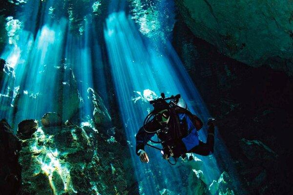 Séjour au Mexique, plongée dans le Yucatan