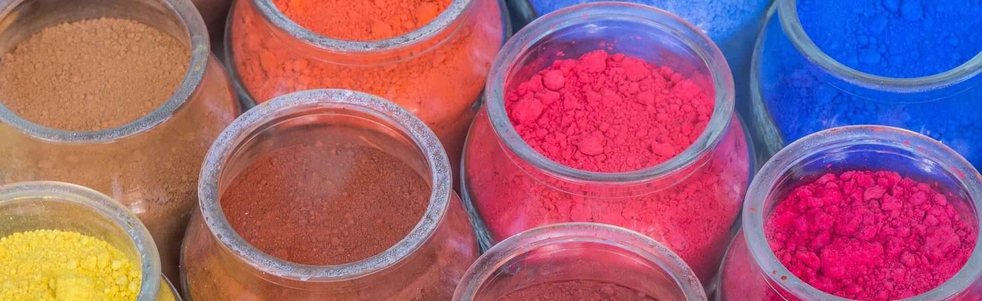 les differents types de colorants pour
