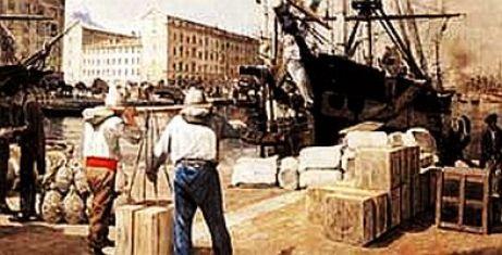 Alphonse Moutte  dockers sur le vieux portS