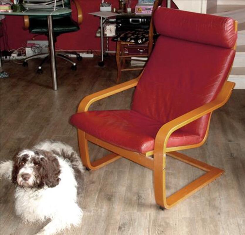 garniture cuir pour fauteuil poang