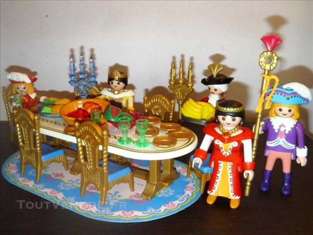 playmobil 3021 salle a manger royale