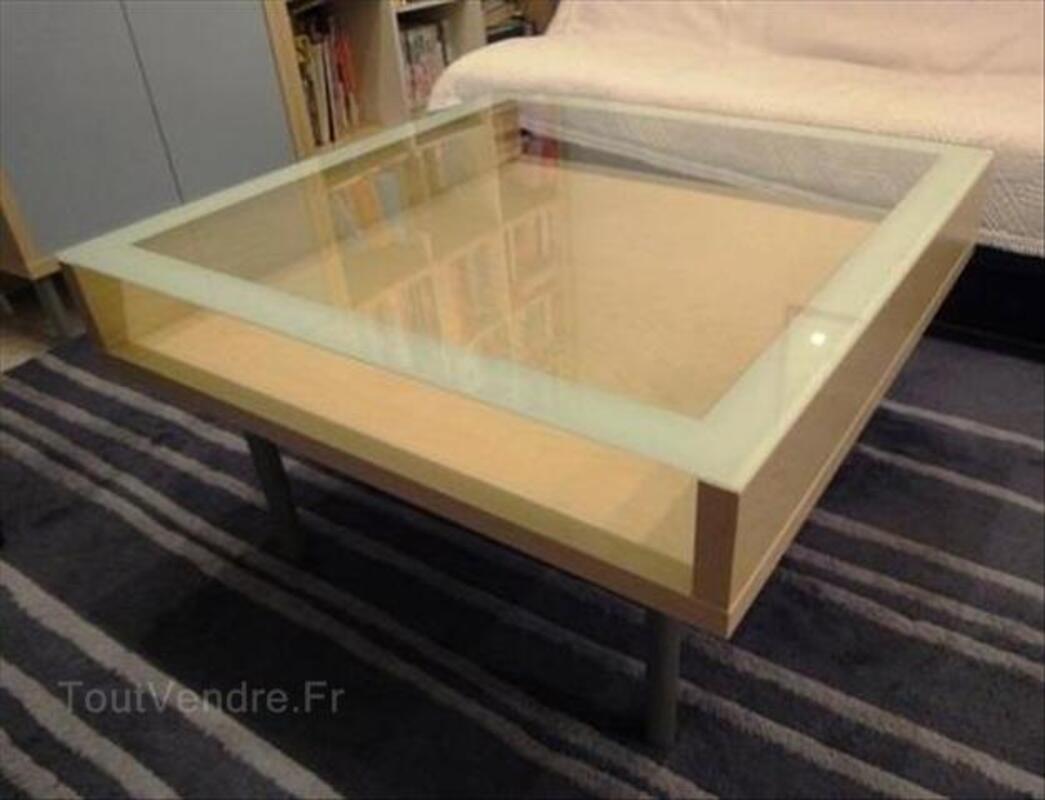 table basse ikea plateau de verre saint