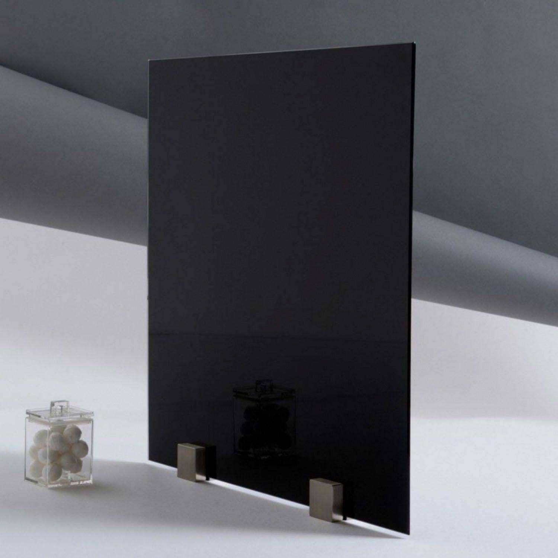 verre laque noir epaisseur 4 mm